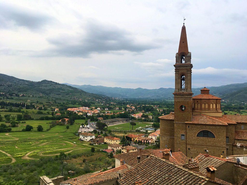 Toskania, Casteglion Fiorentino