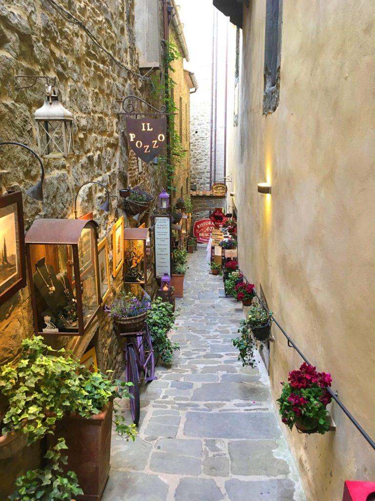 Toskania, Cortona