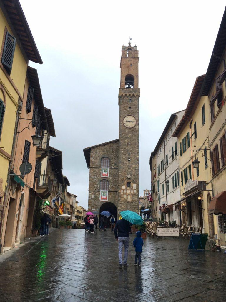 Toskania, Montalcino