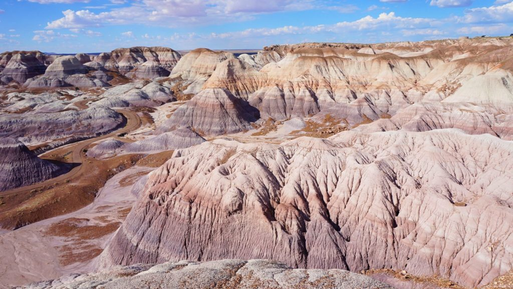USA - Petrified Forest National Park