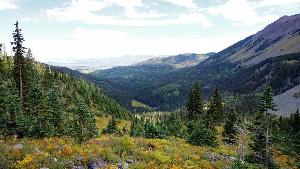 Blue Lakes Trail, Ouray, Colorado