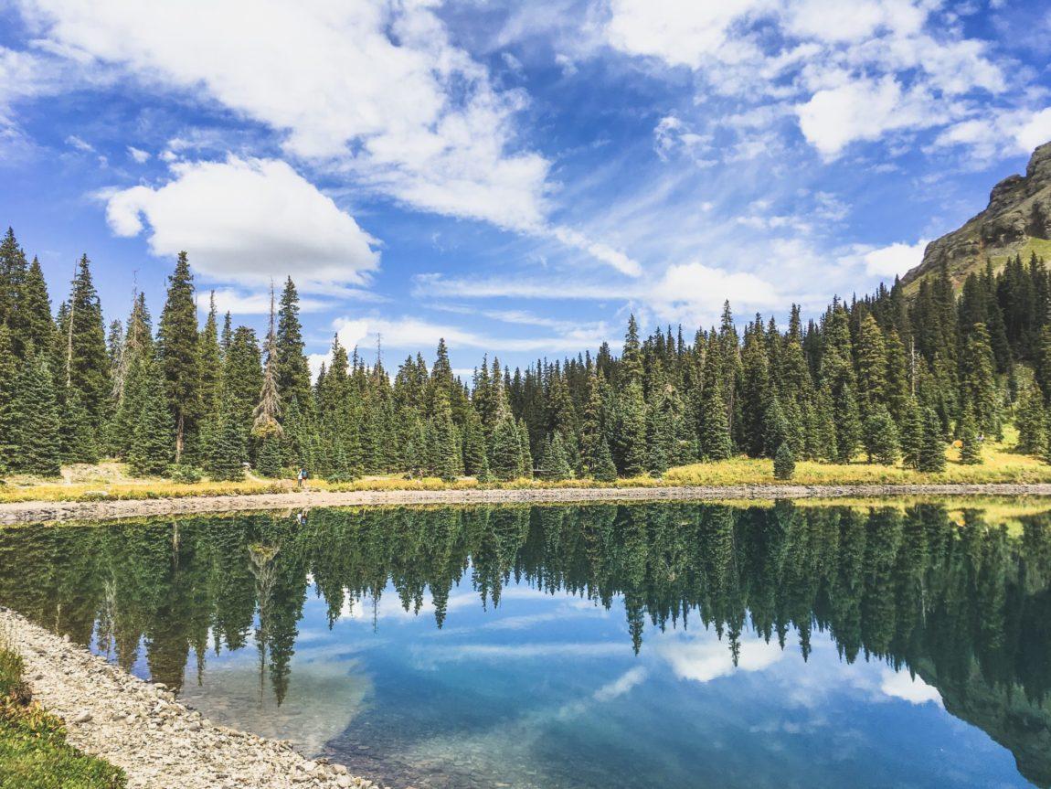 Blue Lakes Trail, Colorado