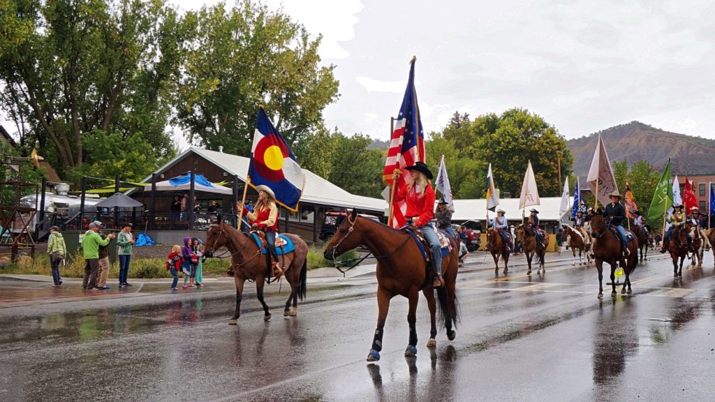 Rodeo w Ouray, Colorado