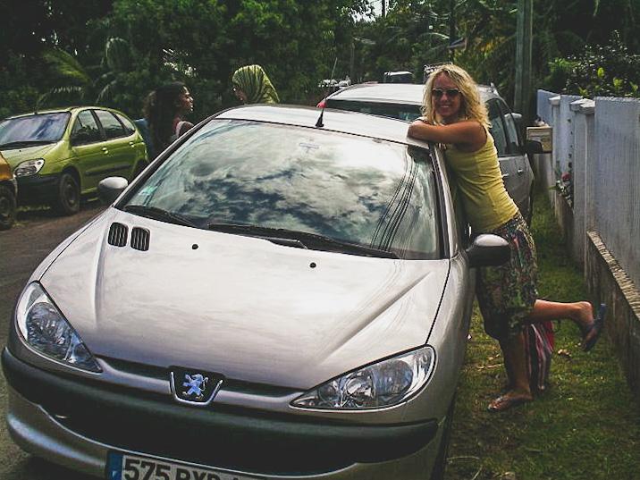 wynajęty samochód na Reunionie