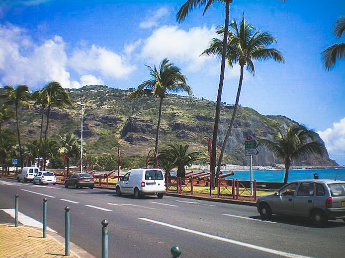 drogi na Reunionie