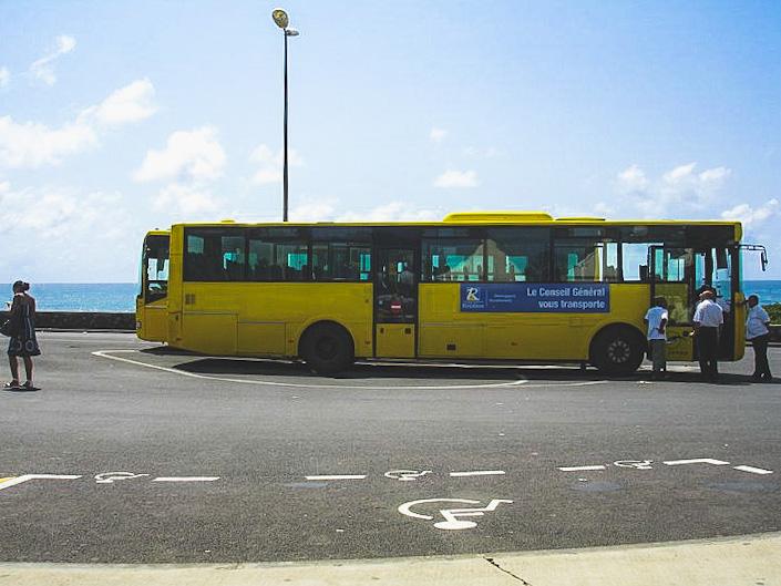 autobus na Reunionie
