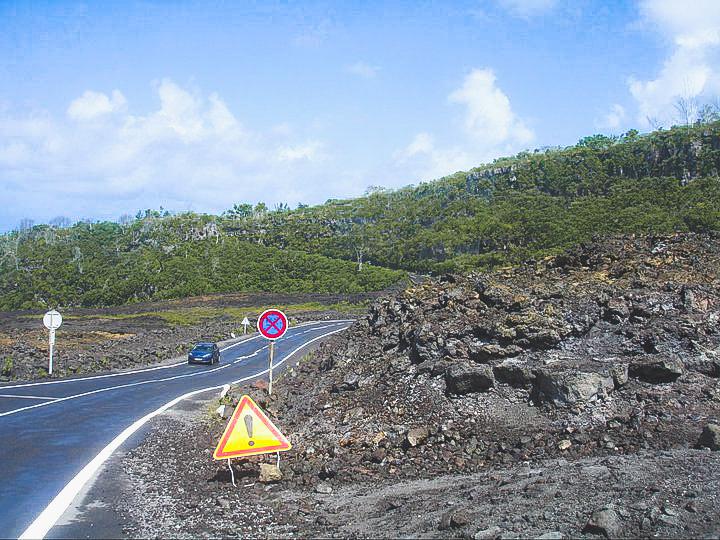 droga na Reunionie